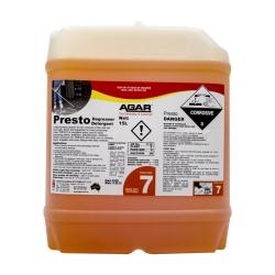 Agar Presto - Caustic Cleaner - 15Ltr
