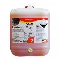 Agar Presto - Caustic Cleaner - 20Ltr