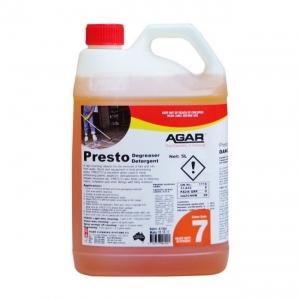 Agar Presto - Caustic Cleaner - 5Ltr