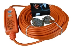 Extension Lead 20M x 10Amp with In-Line RCD