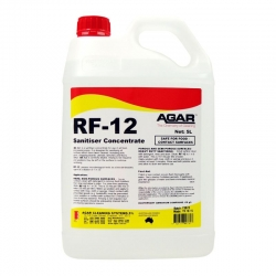 Agar RF-12 Rinse-free Sanitiser - 5L