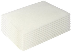 Scourer Pads - WHITE 23 x 15cm - each pad
