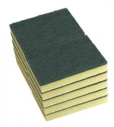 DuraClean Scour 'N' Sponges Heavy Duty G/Y 15x10cm (10/pack)