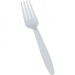 Cut Forks White 1000/bx (G/F)