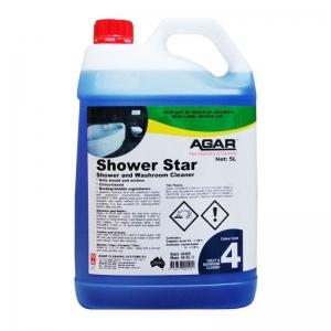 Agar Shower Star- Toilet and Bathroom Cleaner - 5Ltr