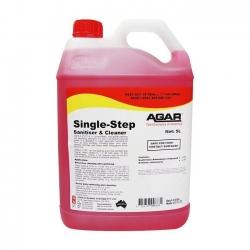 Agar Single Step - Food Safe Sanitiser & Cleaner- 5Ltr