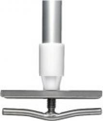 Aluminium Handle & Clamp - Fitted