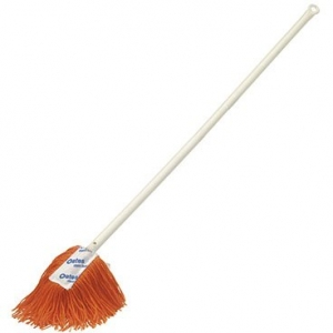 Dust Mops ORANGE 90cm Complete