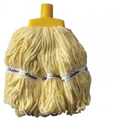 Duraclean Hospital Launder Round Mops Refil 350G-YELLOW-Each