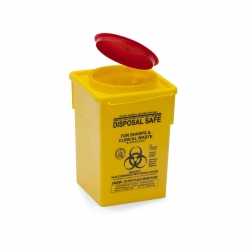 Sharps Container Yell 1.7Lt