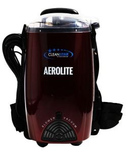 Cleanstar Aerolite Backpack Vacuum - RED