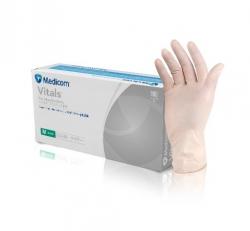 Medicom VINYL Gloves Powder Free - MEDIUM 100 Gloves per Packet