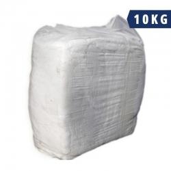 Rags White Singlet 10Kg